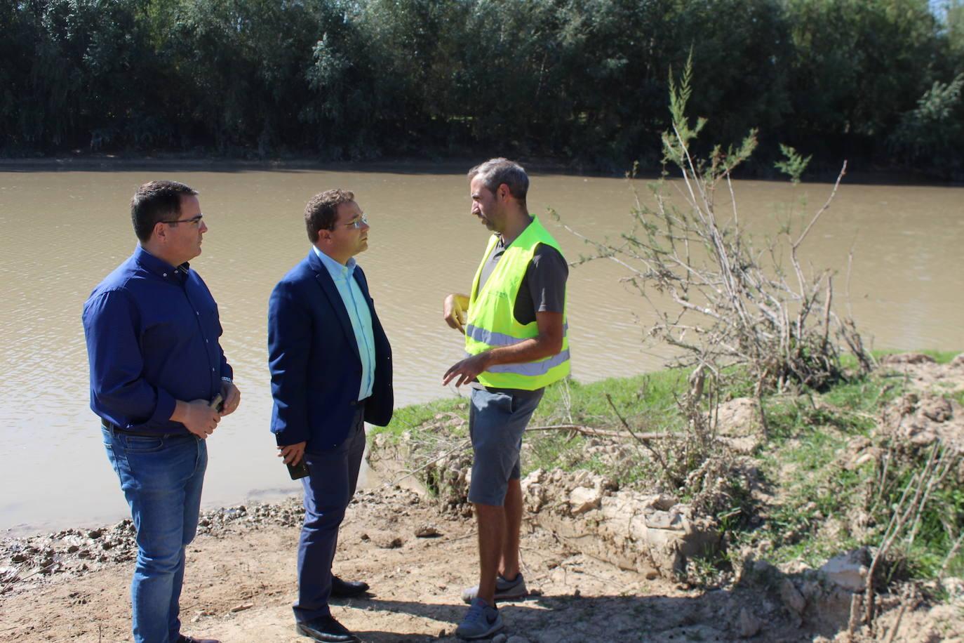Una empresa está realizando el estudio de la sedimentación del río Guadalquivir