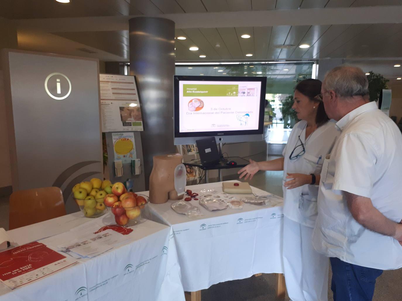 El hospital Alto Guadalquivir sensibiliza sobre la ostomía