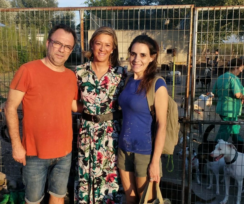 Andalucía Por Sí ensalza el trabajo de la protectora de animales Mi Fiel Amigo