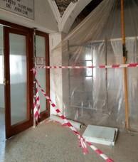 Andújar por la Sanidad percibe desatención y falta de ritmo en las obras del Antiguo Hospital