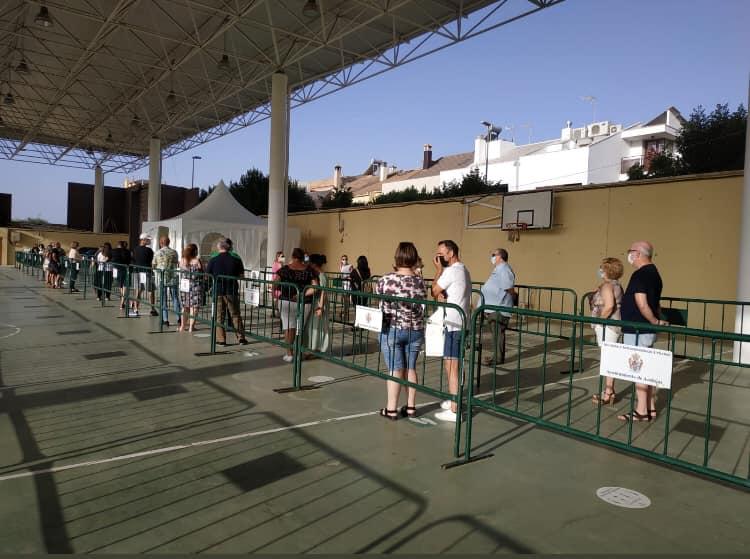 La Junta vacuna sin cita el viernes con Moderna en el recinto ferial de Andújar