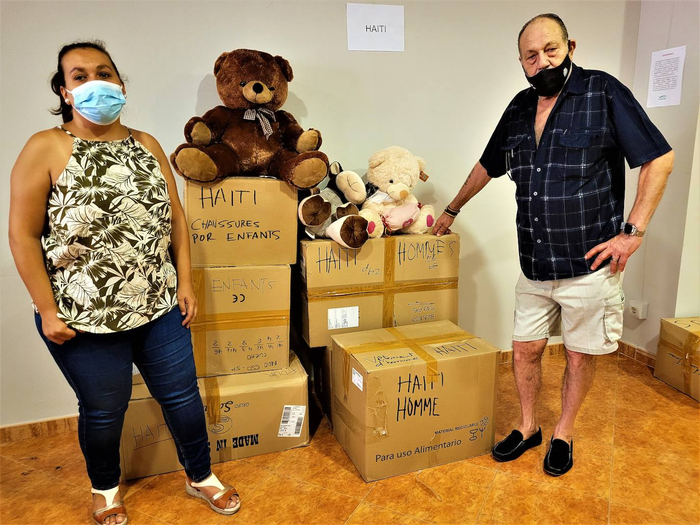 La asociación VAS Andújar emprende una campaña humanitaria de apoyo a Haití