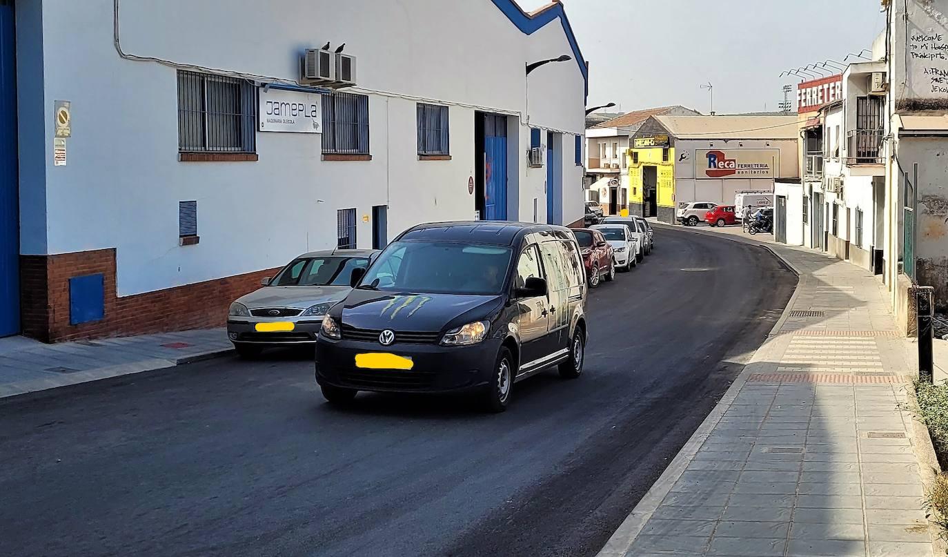 Satisfacción generalizada de los empresarios de la Puerta de Córdoba por el fin de las obras