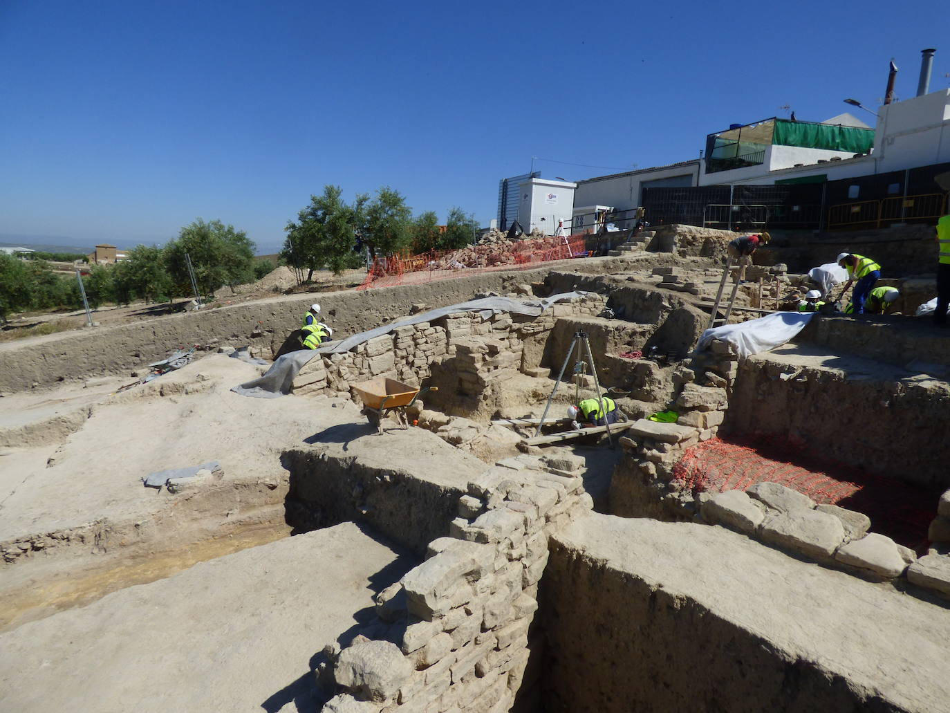 La Consejería de Cultura autoriza el modificado del proyecto de restauración de las Cisternas 'La Calderona' de Porcuna tras los últimos hallazgos
