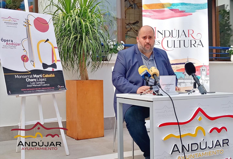 El Teatro Principal de Andújar acogerá un espectáculo de ópera de «gran calidad» enmarcado en la programación cultural de otoño
