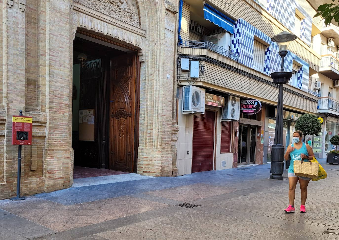 La querida capilla de la Virgen de la Cabeza cumple 100 años