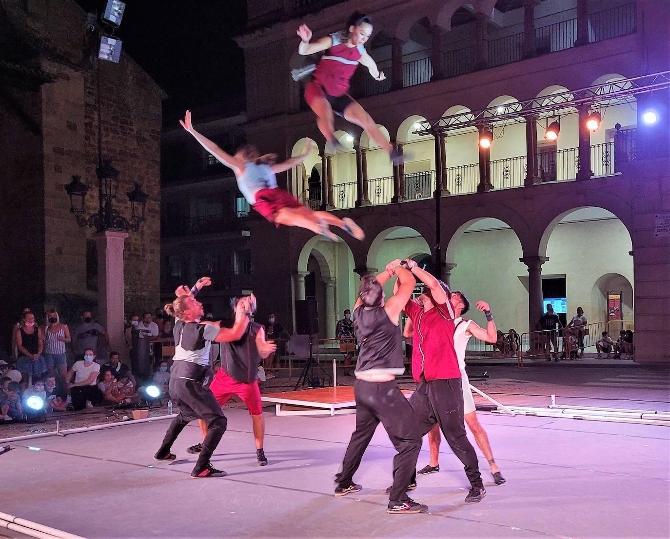 Un condensado Festival de Circo Contemporáneo volvió a causar admiración entre la ciudadanía