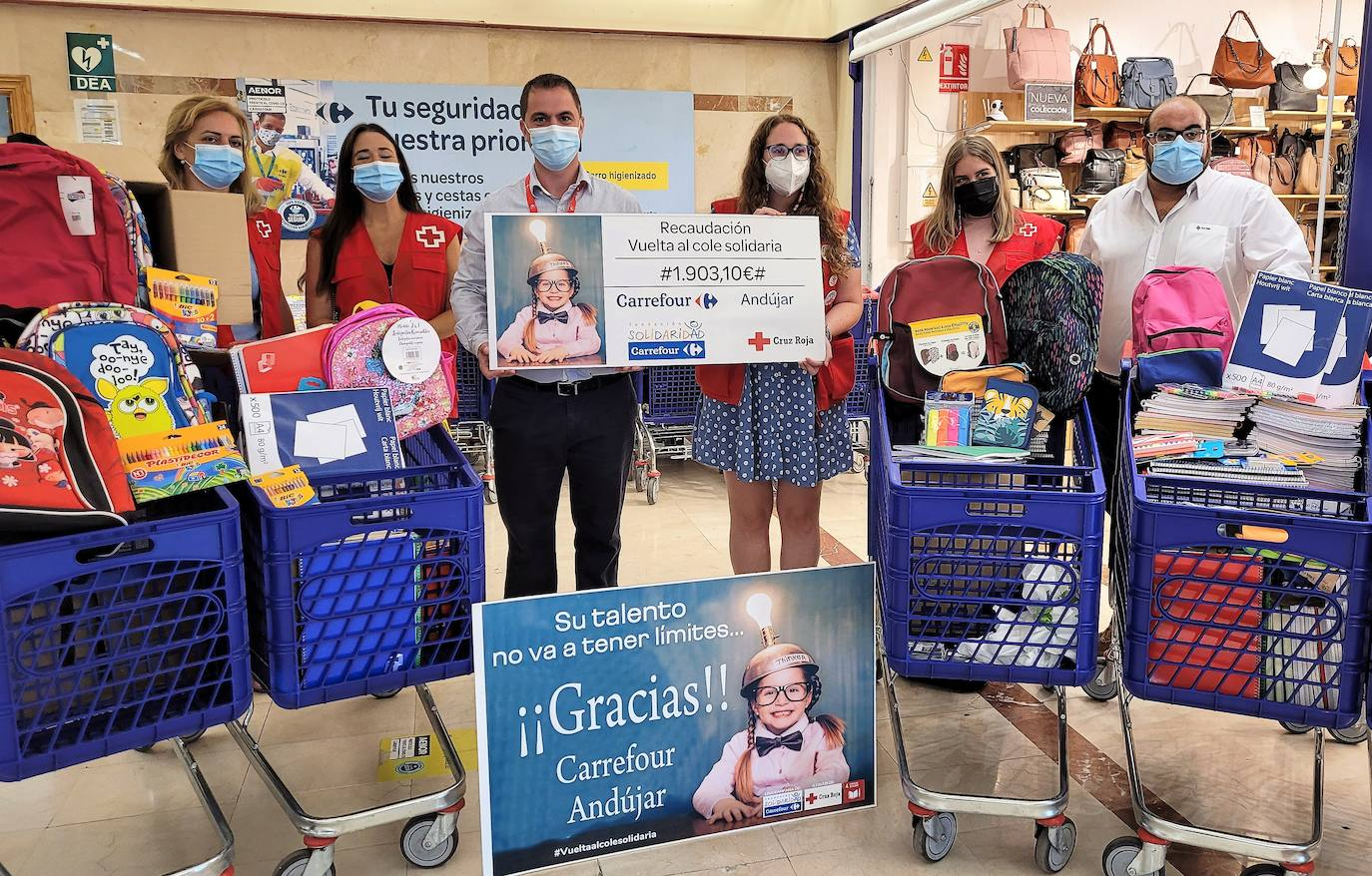 Cruz Roja triplica sus ayudas en la zona con la pandemia del coronavirus