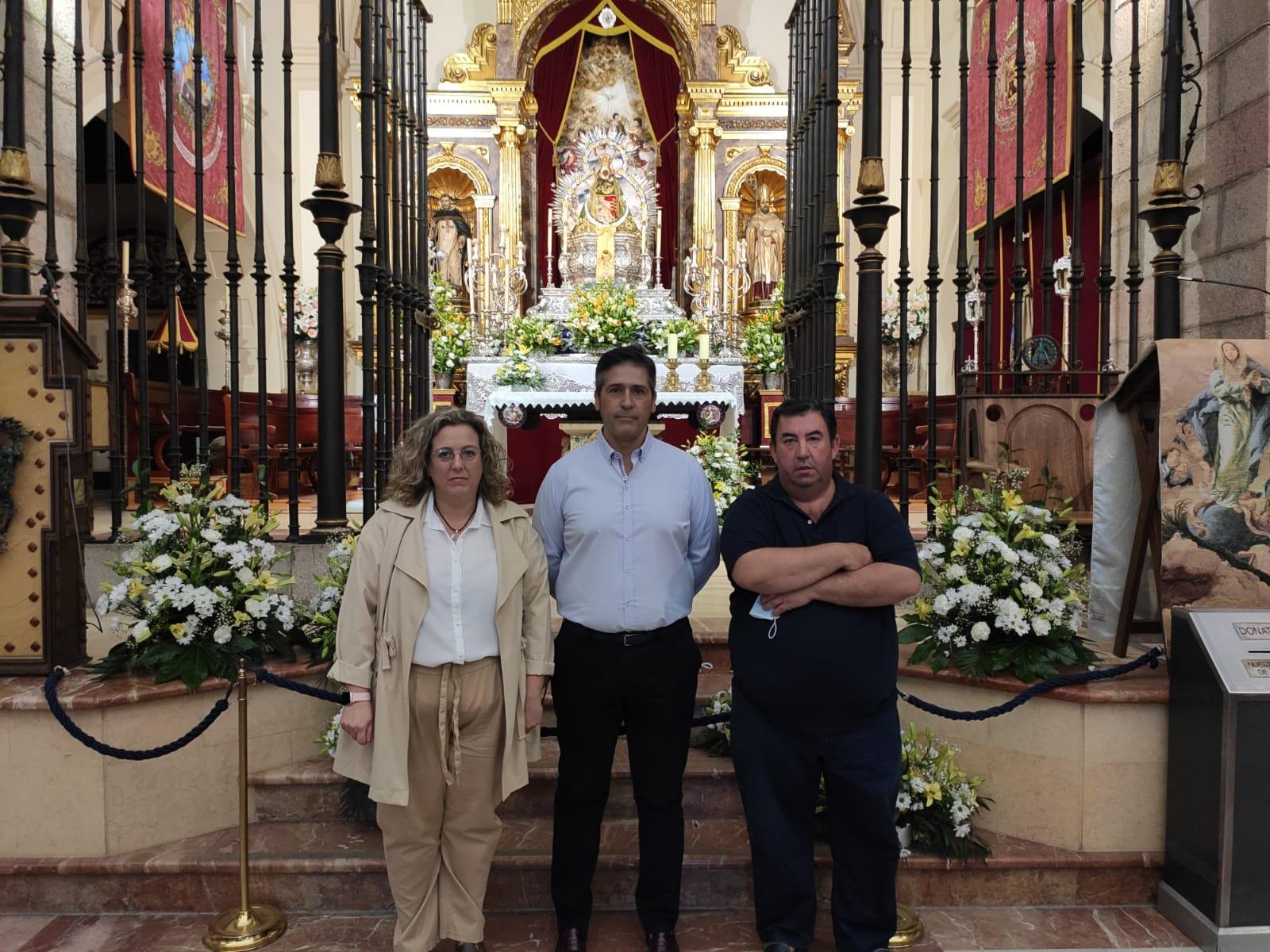 Ángel Soto, Guillermo Cervera y Silvia Herrero completan una terna a los comicios en la Cofradía Matriz