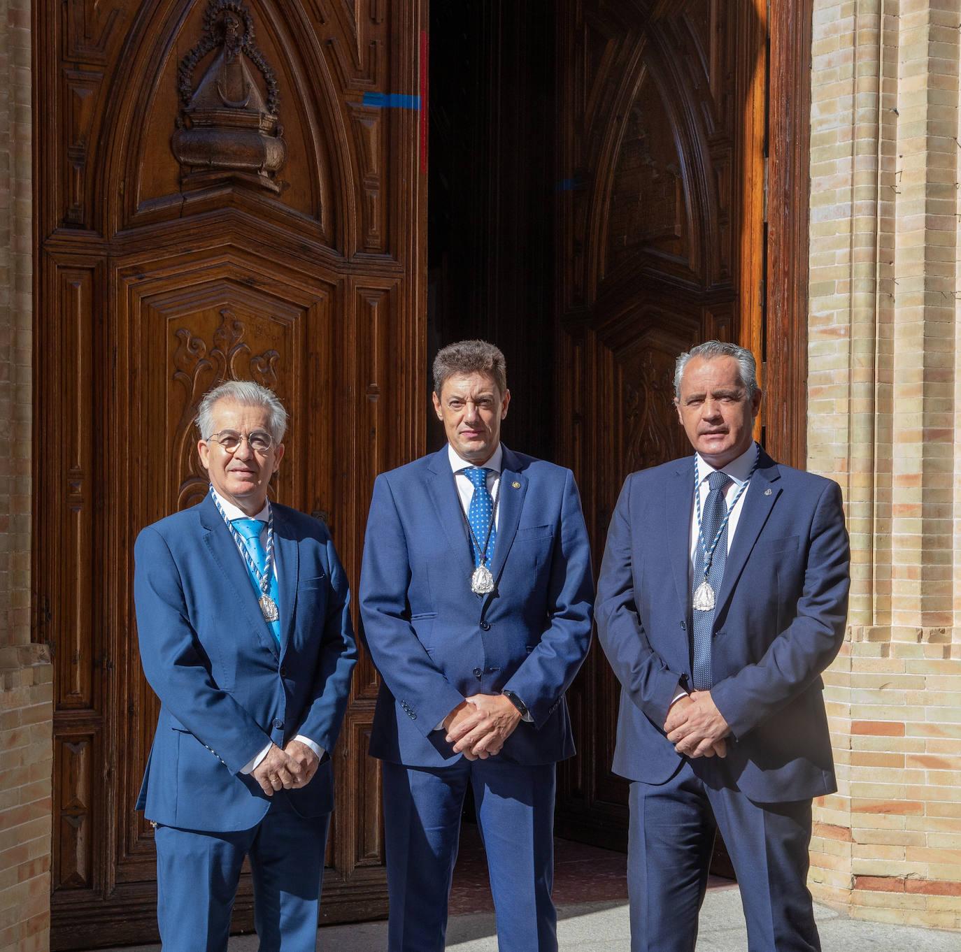 Manuel Vázquez, Joaquín Luque y Manuel José Gómez conforman la otra terna a las elecciones a la Cofradía Matriz de la Virgen de la Cabeza