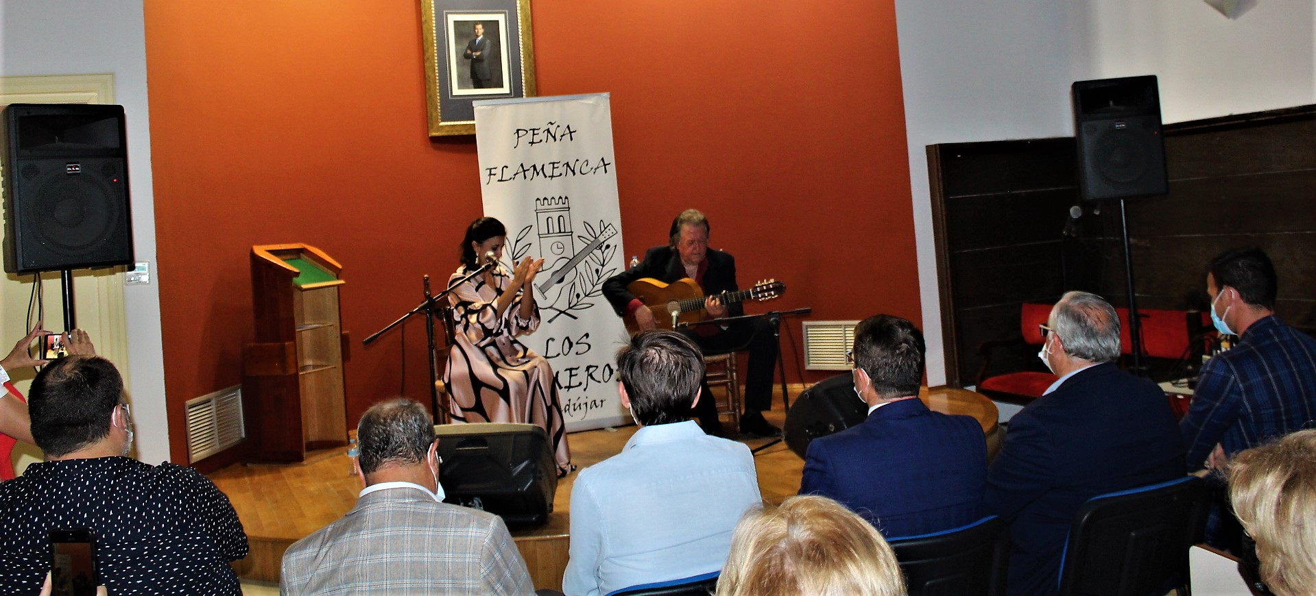 Andújar pone al colofón al Circuito Provincial de Flamenco 'A la Verde Oliva'