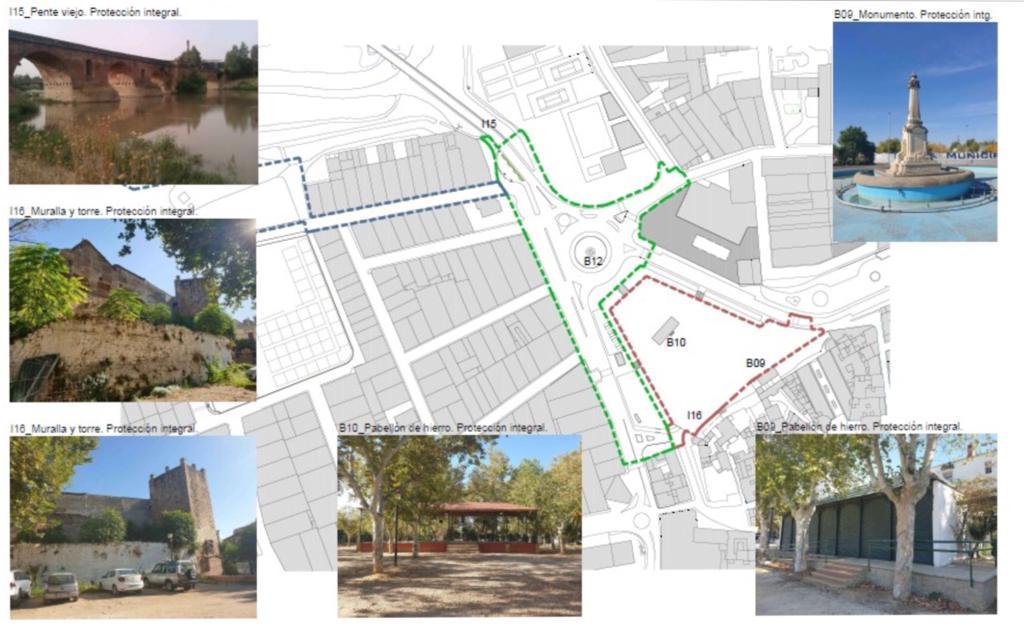 La Consejería de Cultura da luz verde definitiva al proyecto de regeneración del eje Parque-Colón Ribera del Guadalquivir de Andújar