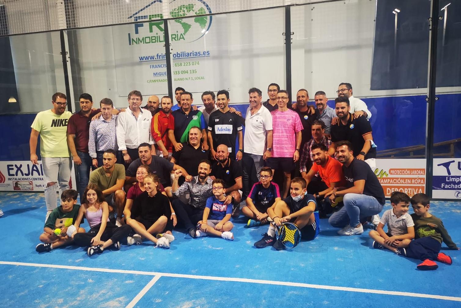 El torneo I Aniversario del Club de Pádel Andújar congrega a figuras nacionales e internacionales