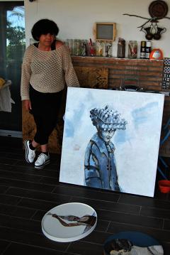 «Mis obras tienen un papel reivindicativo porque hablo de mujeres que no son reconocidas»