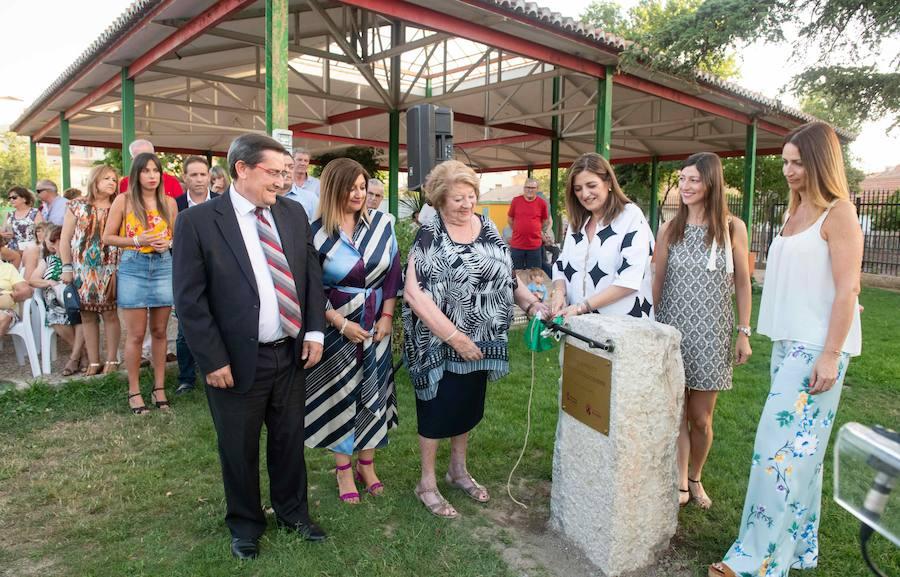 Armilla pone el nombre de Virgilio Castilla a un parque