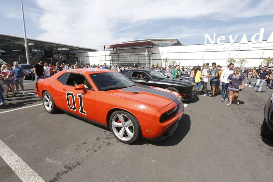 Los coches americanos toman el Nevada