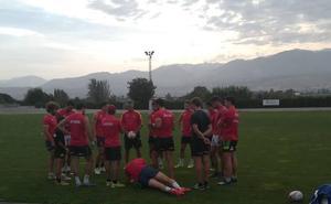 La selección nacional de Rugby 7 se entrena en la Ciudad Deportiva de la Diputación de Granada