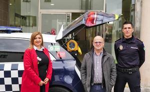 La Policía Local de Armilla contará con un desfibrilador en uno de sus coches patrulla