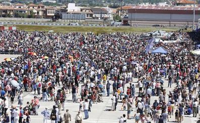 Aluvión de personas en una jornada inolvidable en la Base Aérea de Armilla