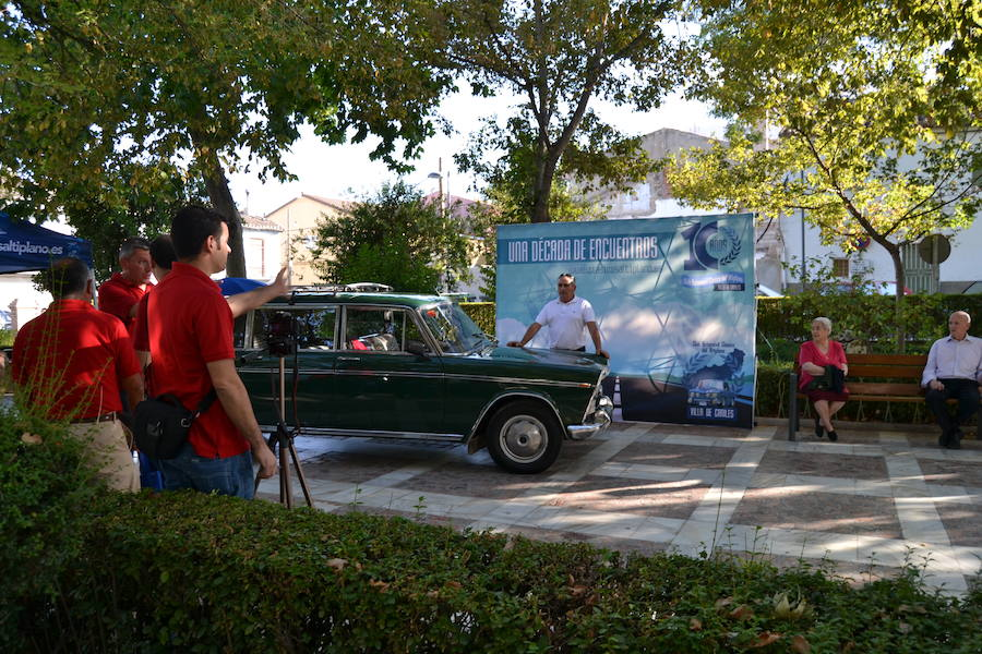El Club Automóvil Clásico del Altiplano 'Villa de Caniles' celebra una década de encuentros