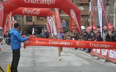 Manuel Santiago y Zhor El Amrani brillan en la Media Maratón Ciudad de Baza