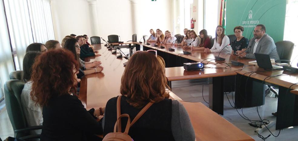El IES Alcrebite de Baza anfitrión de un encuentro Erasmus con alumnos de Croacia, Alemania, Italia y Polonia