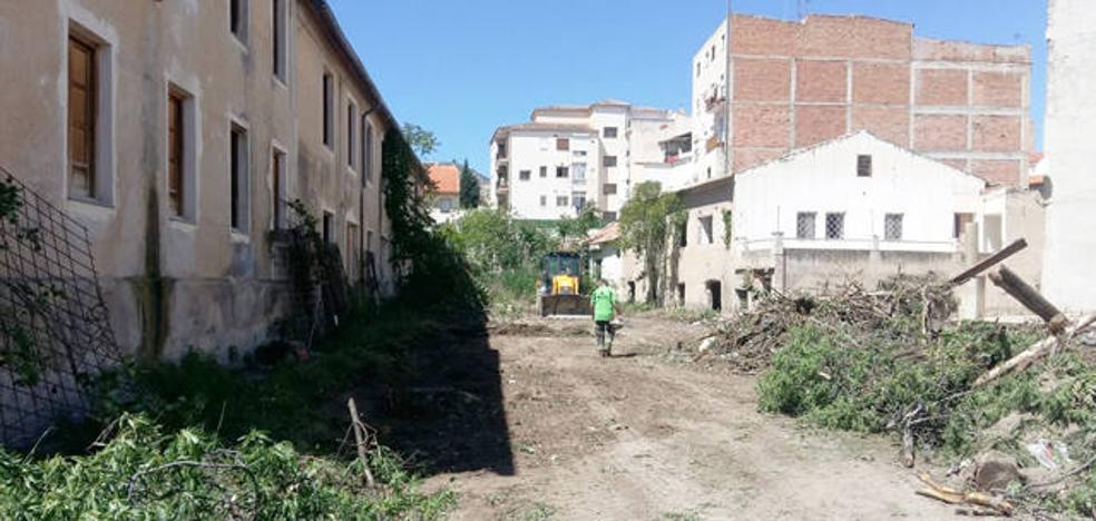 Comienzan los trabajos previos para la rehabilitación del Teatro Dengra