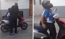 La mujer de Baza que conducía ebria un ciclomotor acabó en el hospital y denunciada