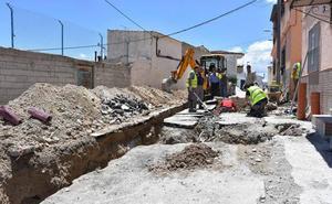 Arrancan las obras de mejora en las calles Mariana Pineda, Santa Rosa, Fuensanta y Gabriel Valero de Baza