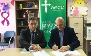 El Área de Gestión Sanitaria Nordeste de Granada y la Asociación Española Contra el Cáncer firman un convenio de colaboración