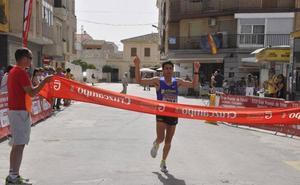 Manuel Santiago y Zhor El Amrani repiten victoria en Huéscar