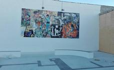 El barrio Pablo Picasso estrena plaza y mural dedicado al artista malagueño más universal