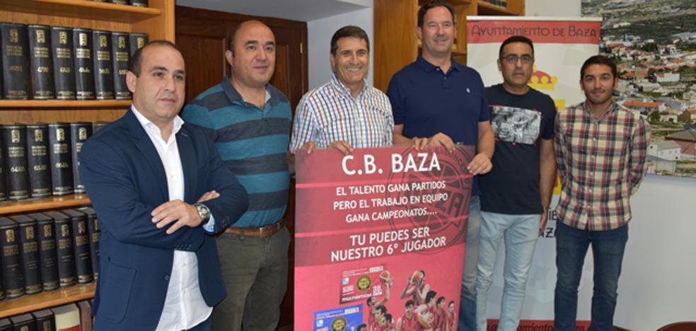 Ayuntamiento y CB Baza renuevan su colaboración para gestionar la cantera y apoyo al equipo senior de liga EBA