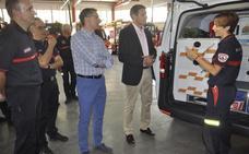 El parque de bomberos de Baza estrena un vehículo de intervención rápida (VIR)