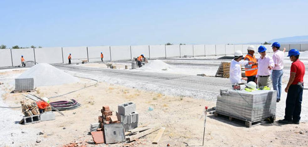 La ampliación del cementerio de Baza permitirá la construcción de 850 bóvedas nichos