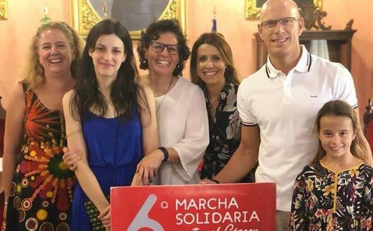 Así se ha gestado la Marcha Solidaria contra el Cáncer en Huéscar con Luis Tosar como invitado sorpresa