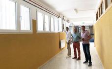 El Ayuntamiento de La Puebla mejora el colegio Ramón y Cajal con una inversión de 96.720 euros
