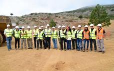 Comienzan los trabajos de restauración de las antiguas zonas mineras en el Parque Natural Sierra de Baza