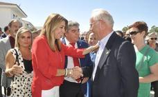 Susana Díaz destaca la importancia del sector del ovino en su visita a Huéscar