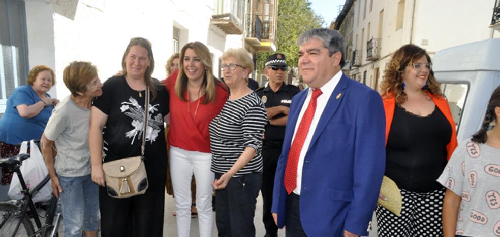 Susana Díaz anuncia la ampliación del Parque Natural de la Sierra de Castril hacia la Sagra