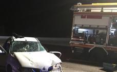 Dos personas heridas graves en accidente de tráfico en Zújar