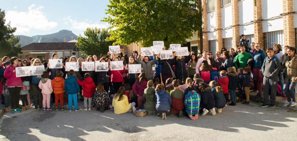 La AMPA del colegio de la Puebla, dispuesta a aumentar las protestas