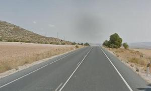 Cinco heridos en un accidente de tráfico en Galera