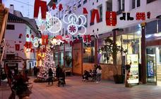 El gran centro comercial por navidad se llama Baza