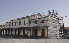 Taller de empleo para rehabilitar parte del edificio de la estación del ferrocarril