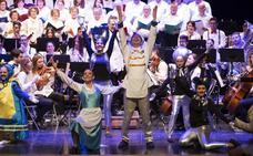 Baza canta con Walt Disney