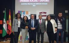 Huéscar, galardonado en la I edición de los premios 'Social – Dipgra'