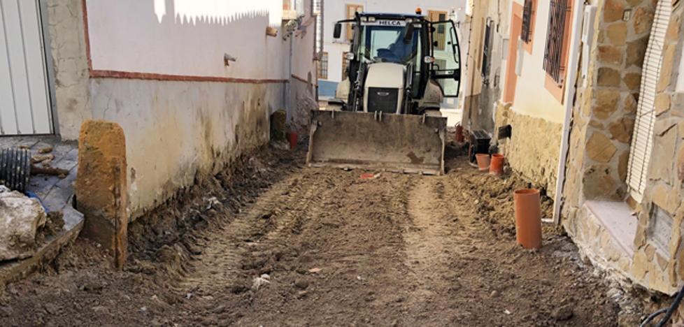 El Ayuntamiento de Puebla de Don Fadrique invierte 370.000 euros en el arreglo de varias calles