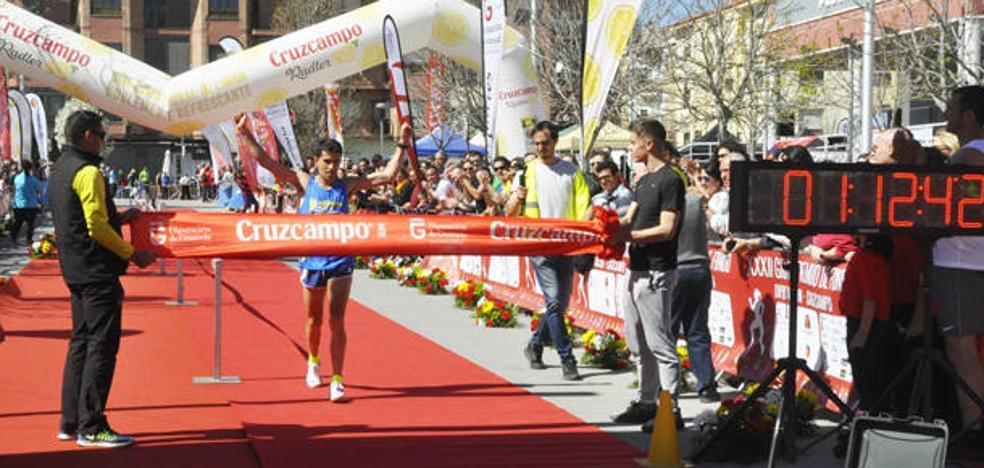 Manuel Santiago y Janine Lima ganan la 43 Media Maratón 'Ciudad de Baza'