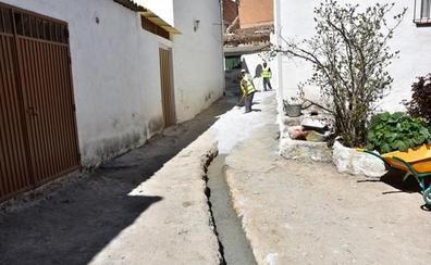Obras de mejora en la calle Francia